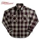 デラックスウエア DELUXEWARE ネルシャツ HV-00 50s BUFFALO CHECK グレー S-XL アメカジ
