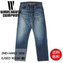【予約】WAREHOUSE ウエアハウス 2ND-HAND 1606 (USED WASH 濃) セコハン ジーンズ デニム スリム