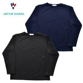 ARVOR MAREE アルボーマレー フリース SHOULDER BTN FLEECE M-XL 黒 紺 MFL-SBTN カジュアル