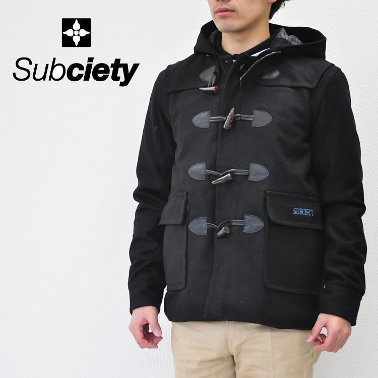 SUBCIETY サブサエティ ジャケット NYB DUFFLE COAT-SALOON- 10307 ダッフルコート コート