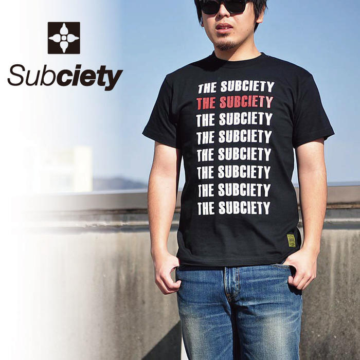 SUBCIETY サブサエティ Tシャツ Propaganda S/S 10661 半袖 トップス メンズ サブサエティー