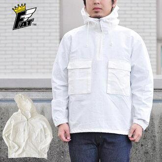 FAT エフエーティー RIPARAK anorak shirt pullover jacket parka street men white (white)