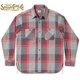 SUGAR CANE シュガーケーン ネルシャツ SC28740 TWILL CHECK WORK SHIRT ツイルチェックワークシャツ メンズ 長袖