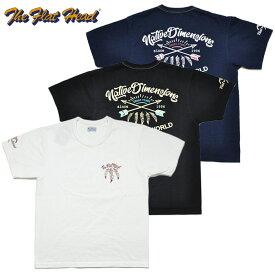 フラットヘッド THE FLAT HEAD Tシャツ FN-THC-018 NATIV DIMENSIONS 3色 38-44 メンズ 半袖 アメカジ