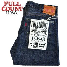 FULLCOUNT フルカウント デニム 1108W STRAIGHT LEGS ジーンズ パンツ 1108 13.7oz Denim ワンウォッシュ