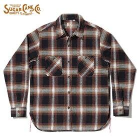シュガーケーン SUGAR CANE シャツ SC28743 TWILL CHECK WORK SHIRT ワークシャツ M-XL メンズ アメカジ
