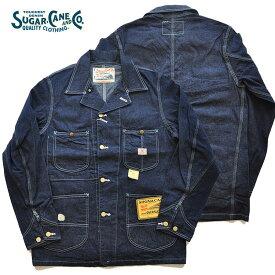 シュガーケーン SUGAR CANE ジャケット 11ozブルーデニムワークコート メンズ インディゴ M-L SC14371