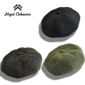 Nigel Cabourn ナイジェルケーボン キャスケット ツイード CASQUETTE TWEED メンズ ハンチング