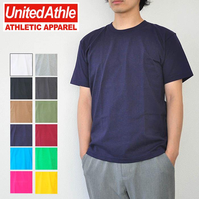 United Athle ユナイテッドアスレ スーパーヘヴィーウェイト7.1オンスTシャツ 半袖 無地 トップス カットソー 4252-01