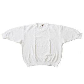 Iroquois イロコイ ニット Tシャツ 30/2 PARALELED YARN 白 メンズ S-M 19年夏モデル 181114