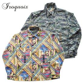 Iroquois イロコイ ジャケット REVERSIBLE BL リバーシブル ミリタリージャケット 1サイズ メンズ 581200