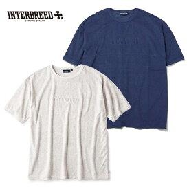 インターブリード INTERBREED Tシャツ Pile Resort SS Tee グレー 紺 M-XL IB19SS-26 ストリート