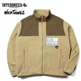インターブリード INTERBREED ワイルドシングス WILD THINGS フリース ジャケット Polartec Desert Jacket メンズ ベージュ M-XL IB19AW-38