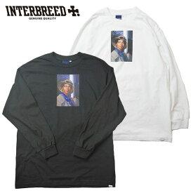 インターブリード Tシャツ Ernie Paniccioli for INTERBREED Princess L.Boogie LS Tee ロンT 長袖 M-XL 白 黒 IB20SS-14 ストリート
