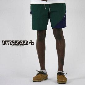 インターブリード INTERBREED ショーツ Wrinkled Nylon Shorts ハーフパンツ ナイロン ショートパンツ IB17SS-37