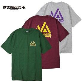 インターブリード INTERBREED Tシャツ Trail Logo SS Tee ロゴ 緑 バーガンディー グレー M-2XL IB19SS-36 ストリート