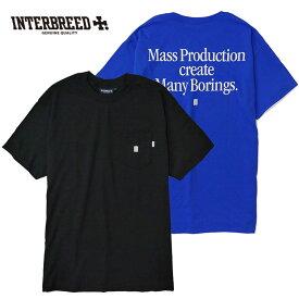 インターブリード INTERBREED Tシャツ Trash Maker Pocket Tee ポケットTシャツ ポケT 黒 青 M-XL IB19SS-42 ストリート