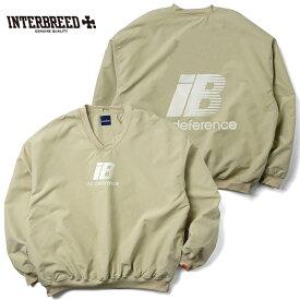 インターブリード INTERBREED ゲームシャツ Rebellion Game Shirt M-XL ベージュ ストリート IB19AW-21