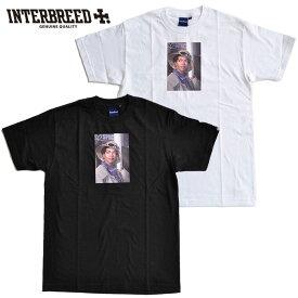 """インターブリード Tシャツ Ernie Paniccioli for INTERBREED """"Princess L.Boogie SS Tee"""" 半袖 M-XXL 黒 白 IB20SS-22 ストリート"""