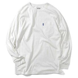Lafayette ラファイエット ロンT Tシャツ SOLID POCKET L/S TEE M-XL 黒 白 紺 ピンク 無地 ポケット 長袖 LA190101 ストリート