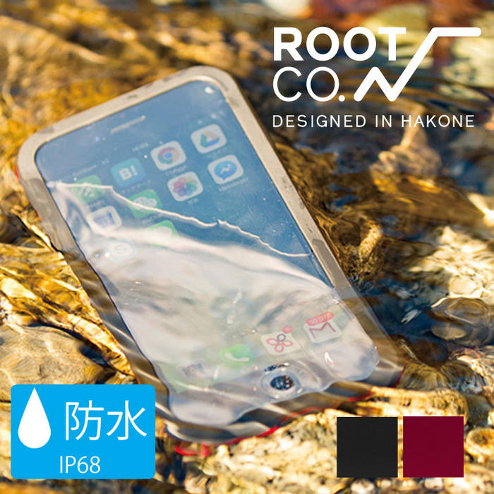 iPhone7 iPhone8専用 ROOT CO スマホケース iPhoneケース 防水ケース Water & Shock Proof Hard Shell for iPhone7 耐衝撃 ルート