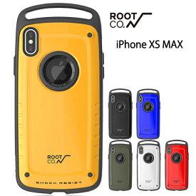 ROOT CO. iPhone XS MAX ケース Shock Resist Case Pro. for iPhonexsmax iPhoneケース 耐衝撃 スマホケース 登山 ルートコー アウトドア