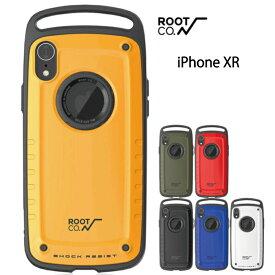 iPhone XR ROOT CO. ルートコー スマホケース iPhoneケース アウトドア mil規格 衝撃 耐衝撃 登山 ケース Shock Resist Case Pro. for iPhoneXR