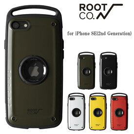 iPhone SE 第2世代 ROOT CO. ルートコー スマホケース iPhoneケース アウトドア 衝撃 耐衝撃 登山 ケース Shock Resist Case Pro. for iPhoneSE 2020