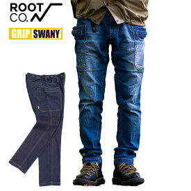 ROOT CO. GRIP SWANY グリップスワニー ストレッチデニムパンツ STRETCH DENIM PANTS Collaboration Model 別注 S-XL ルートコー