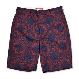 DOUBLE STEAL ダブルスティール ショーツ PANAMA Bandana Shorts ハーフパンツ バンダナ ペイズリー 総柄 772-71002