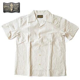 ORGUEIL オルゲイユ シャツ Open Collared Shirt オープンカラーシャツ M-XL ベージュ メンズ OR-5020D
