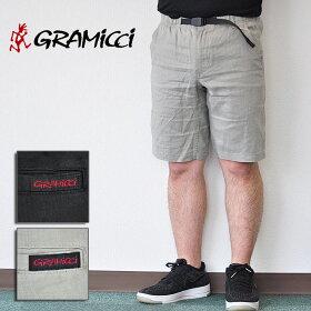 グラミチショートパンツLINENST-SHORTSリネンSTショーツメンズグレー黒M-XLGRAMICCIGMP-18S026