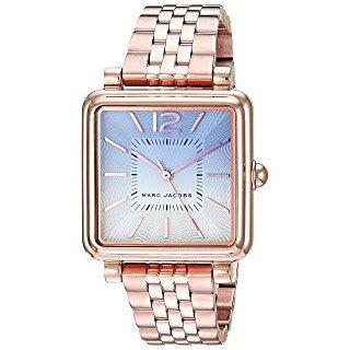 マークジェイコブス 時計 MARC JACOBS レディース スクエア ウォッチ 腕時計 ローズゴールド MJ3556【ブランド 新品 送料無料 誕生日 記念日 お祝い プレゼント 正規 人気 レディース 安心 保証 ギフト 10倍】