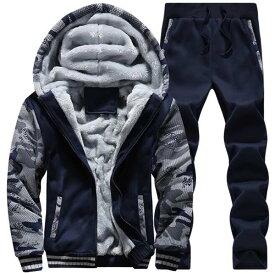 冬 メンズ 裏ボアジャケット アウター スウェット スエット パーカー パンツ 2点セット 上下セットアップ 冬 ジップパーカー トレーナー 裏起毛 裏ボア 厚手 暖かい あったか 防寒 保温性 カジュアル オシャレ ファッション