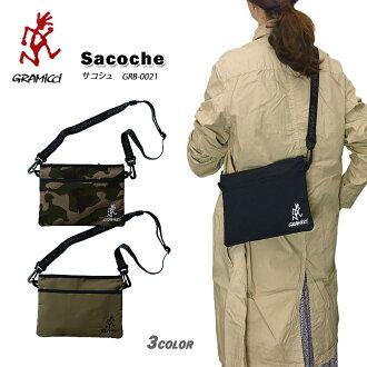 Men gap Dis made in グラミチバッグ GRAMICCI GRB-0021 SACOSHE BAG サコッシュナイロン