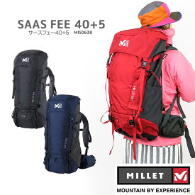 【NEW】ミレー リュック MILLET MIS0638 SAAS FEE 40+5 サースフェー 40+5 バックパック 40+5リットル