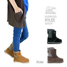 【20%OFF!】ソレル ブーツ スノーブーツ レディース SOREL NL2294 NL2370 RYLEE ライリイ ライリィ 防水 スェード