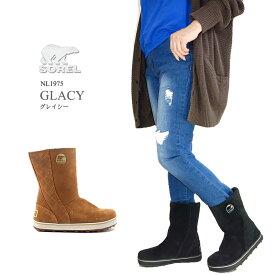 [2020秋冬新作][10%OFF!] ソレル ブーツ スノーブーツ レディース SOREL NL1975 GLACY グレイシー 防水 ウィンターブーツ