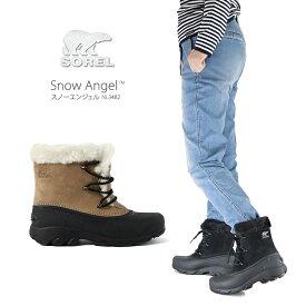 【20%OFF!】ソレル ブーツ スノーブーツ レディース SOREL NL3482 SNOW ANGEL スノーエンジェル 防雪 防寒