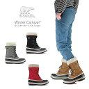 【NEW】ソレル ブーツ スノーブーツ レディース SOREL NL3483 WINTER CARNIVAL ウィンターカーニバル 防水