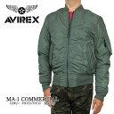 【ポイント10倍!】AVIREX アビレックス ma1 6132077 MA-1 COMMERCIAL アヴィレックス コマーシャル メンズ ジャケット