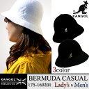 【コロンビアセール開催中】【20%OFF!】KANGOL カンゴール 175-169201 BERMUDA CASUAL バミューダ カジュアル ハット 帽子