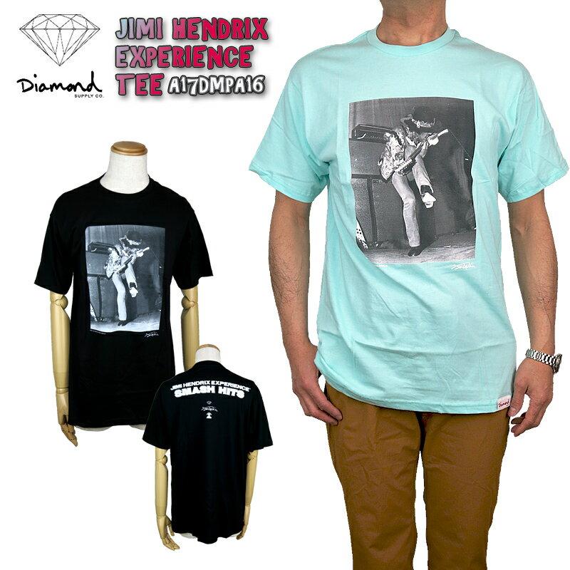 【50%OFF!】ダイアモンドサプライ × ジミヘン diamond supply co A17DMPA16 JIMI HENDRIX EXPERIENCE TEE T-shirt ジミ・ヘンドリックス エクスペリエンス tシャツ