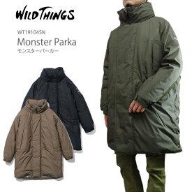 【10%OFF!】ワイルドシングス モンスター パーカ Wild Things Monstar Parka ジャケット プリマロフト パーカー WT19104SN