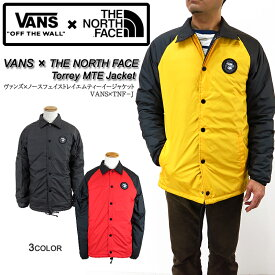 04764b0e4f33 VANS x THE NORTH FACE コラボ コーチジャケット ヴァンズ バンズ ノースフェイス
