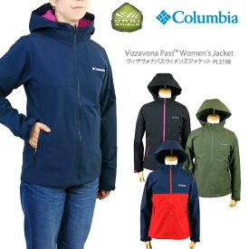 【20%OFF!】コロンビア ジャケット マウンテンパーカー COLUMBIA PL3198 VIZZAVONA PASS WOMEN'S JACKET レディース ヴィザヴォナ パス ジャケット レインウェア
