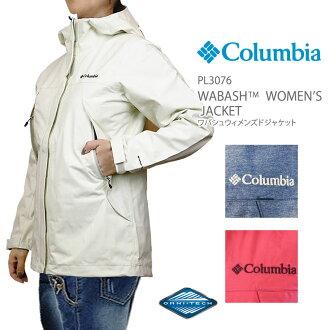 Columbian jacket mountain parka Lady's COLUMBIA PL3076 WABASH WOMEN'S JACKET ワバシュウィメンズジャケットレインウェア