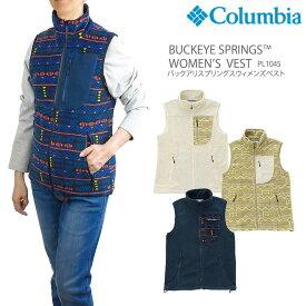 【NEW】コロンビア フリース COLUMBIA PL1045 BUCKEYE SPRINGS WOMEN'S VEST バックアイスプリングス ウィメンズ ベスト レディース