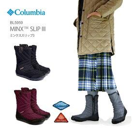 【50%OFF!】コロンビア ブーツ スノーブーツ COLUMBIA BL5959 Minx Slip III Omni-Heat ミンクススリップ 3 オムニヒート レディース 防水 透湿