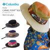 COLUMBIAコロンビアPU5036CARMELPOINTBOONEYカーメルポイントブーニーハット帽子メンズレディースチェック紫外線カット